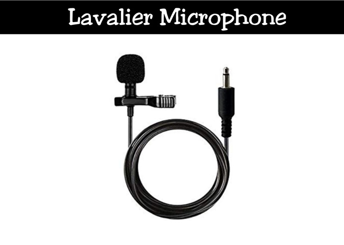Lavalier Lapel Microphone | 2 of 2 - 1