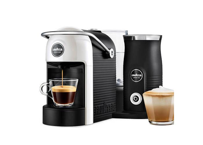 Lavazza Jolie & Milk White Coffee Machine - 1