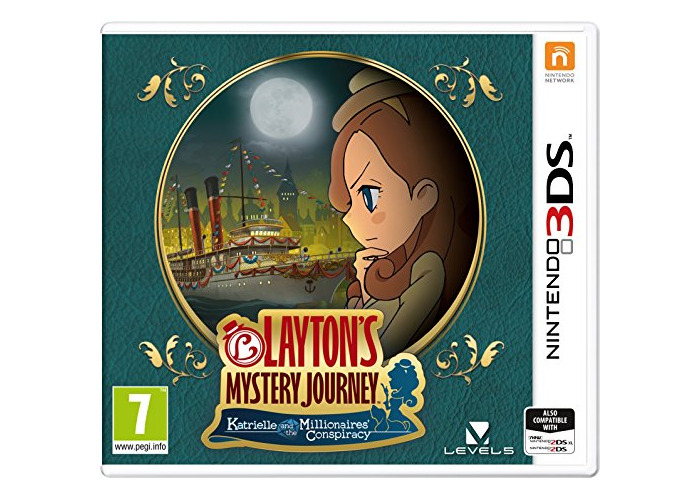 Layton's Mystery Journey: Katrielle and the Millionaires' Conspiracy (Nintendo 3DS) [video game] - 1