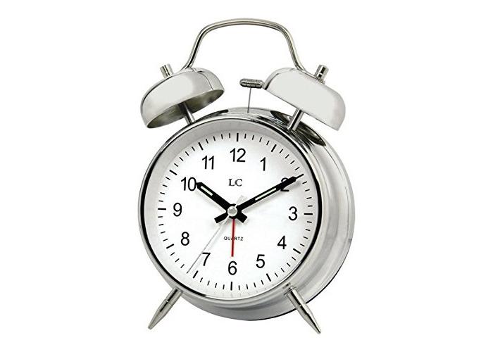 LC Twin Bell Alarm Clock. - 1