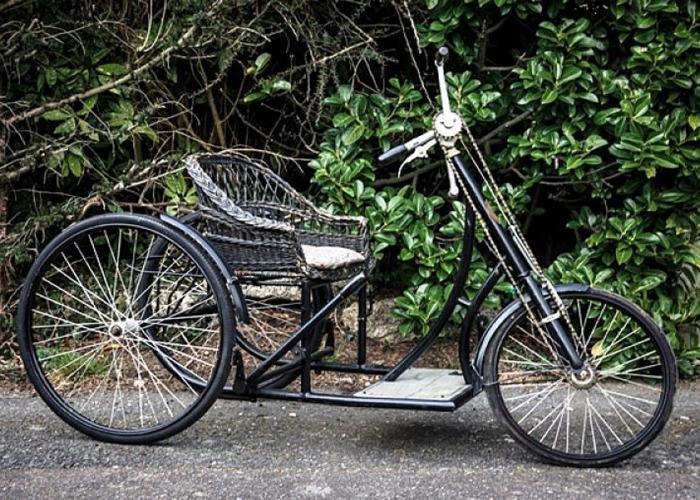 Le Monet Goyon Tricycle Model D (1923) - 2
