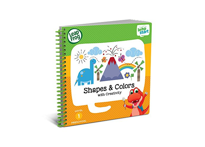 LeapFrog 21503 LeapStart Nursery Shapes/Colours and Creative Expression Activity Book - 1