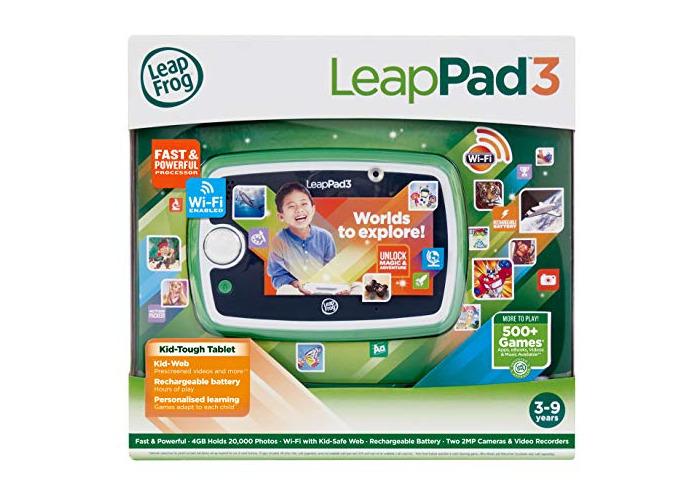 LeapFrog LeapPad 3 Learning Tablet (Green) - 1