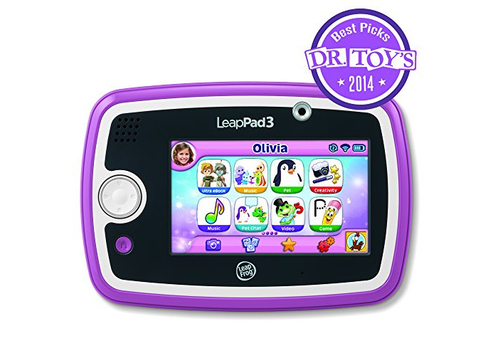 LeapFrog LeapPad 3 Learning Tablet (Pink) - 2