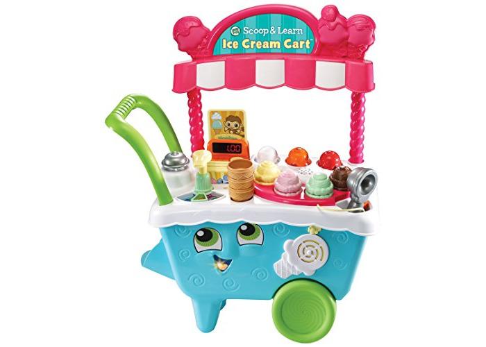Leapfrog Scoop & Learn Ice Cream Cart - 1
