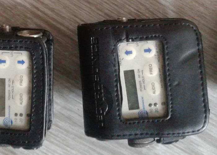 Lectrosonics SMV or SMQV bodypack transmitter - 1