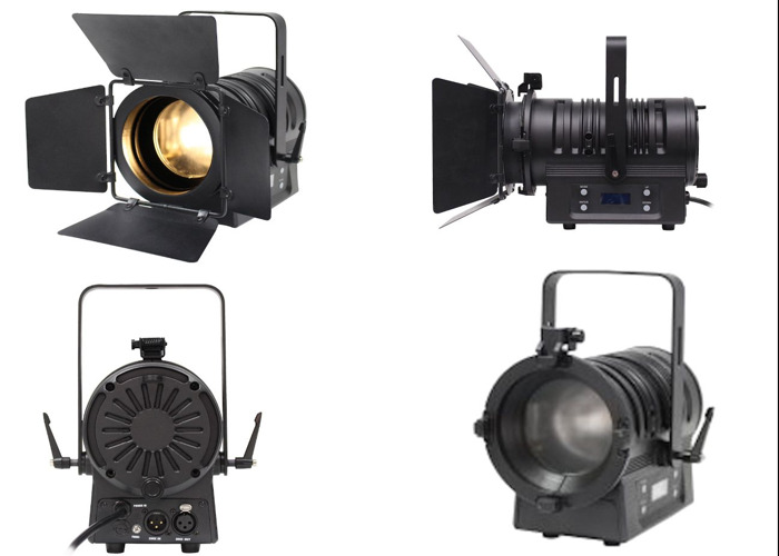 LED Fresnels x2: Studio and Location Lighting kit - 2