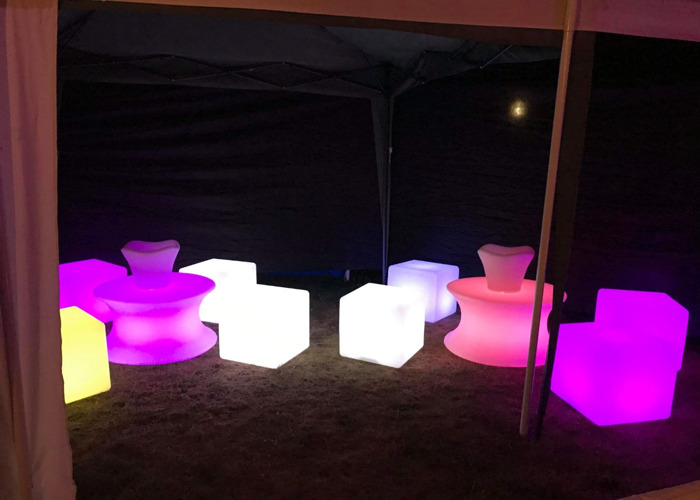 LED Glow illuminated furniture - 1