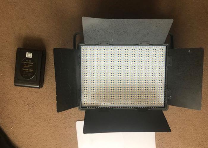 LED Video Light Battery Powered  - 2