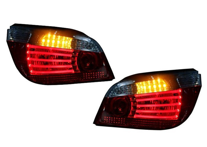 LED-Back Rear Tail Lights Lamps For BMW E60 03-08 LED-Indicator Red/Clear - 1