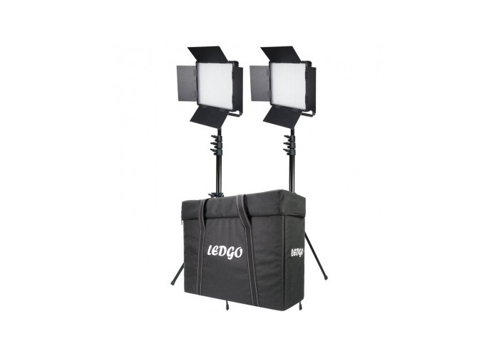 LEDGO LG-900LK2 Dual LG-900 Daylight Location Lighting Kit - 1