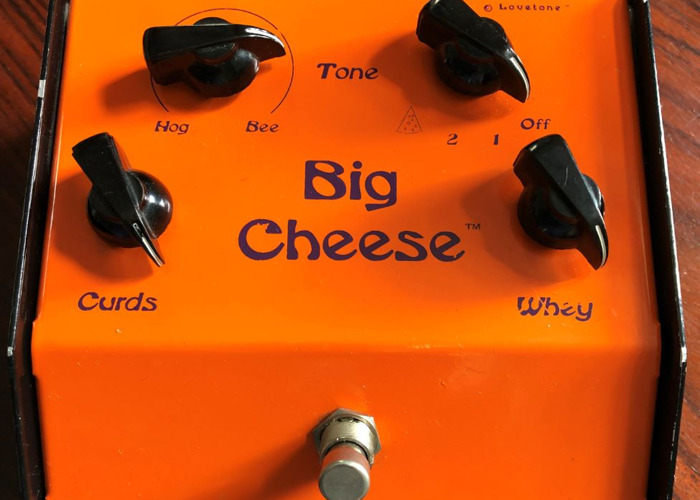 Legendary Lovetone Big Cheese Fuzz Guitar Effects Pedal - 1