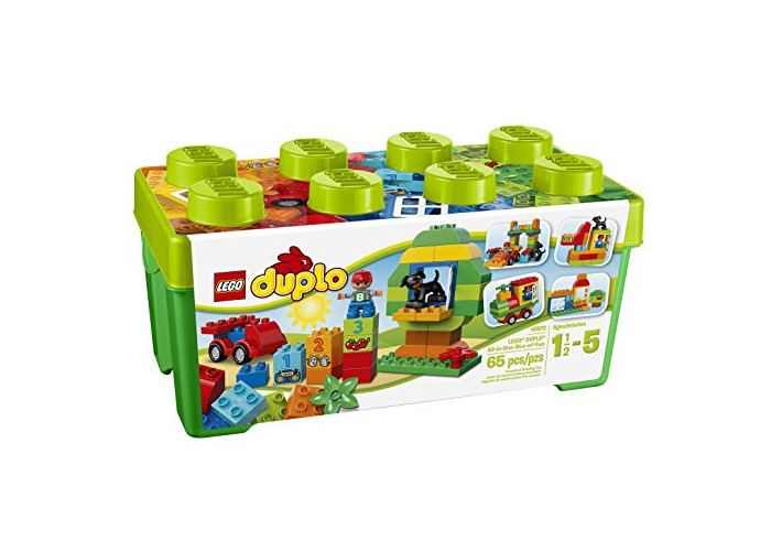 LEGO 10572 DUPLO My First All in One Box of Fun Brick Set, Easy Toy Storage, Preschool Toys for Kids 1,5-5 - 1