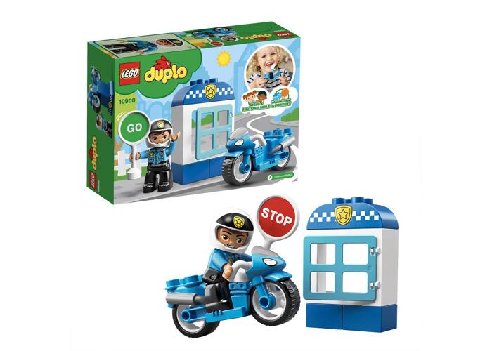 LEGO 10900 Duplo Town Police Bike Building Blocks - 2