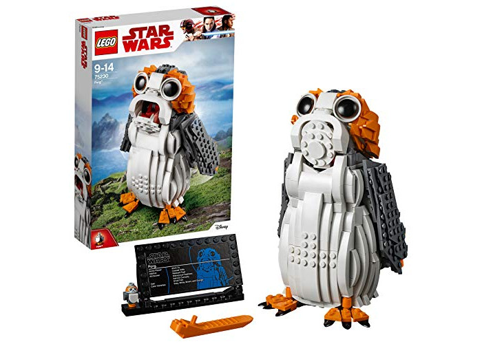 LEGO 75230 Star Wars Porg Building Set, Ahch-To Sea-dwelling Bird Figure, Collectible Model - 1