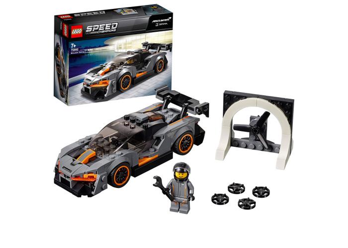 LEGO 75892 Speed Champions McLaren Senna Building Kit, Colourful - 2