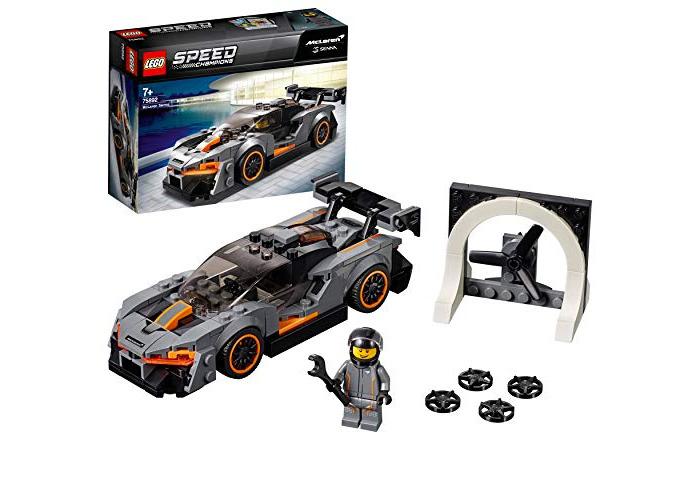 LEGO 75892 Speed Champions McLaren Senna Building Kit, Colourful - 1