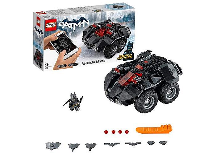 LEGO 76112 DC Comics Batman App Controlled Batmobile Toy Car, Motor Powered, Build and Play Superhero Toys for Kids - 1