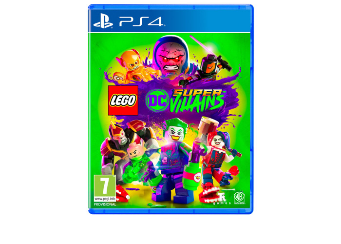 LEGO DC Super-Villains (PS4) [video game] - 2