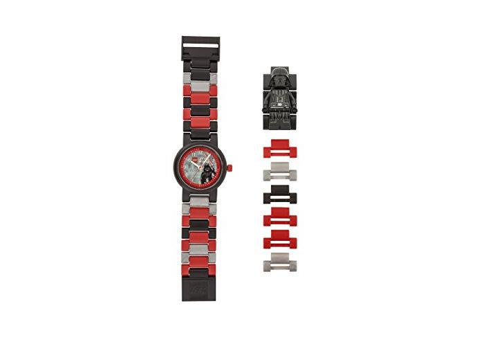 Lego Kids' 9004292 Star Wars Darth Vader Minifigure Link Watch - 1