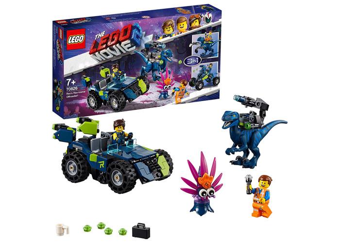 LEGO Movie 2 70826 Rex's Rex-treme Offroader - 2