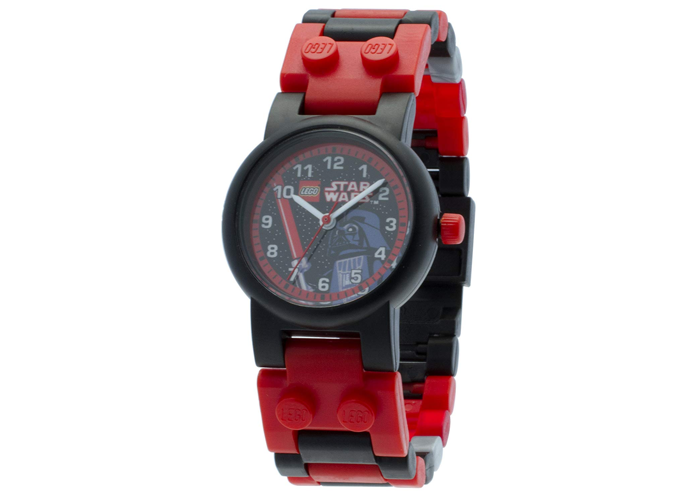 LEGO Star Wars 8020301 Darth Vader Kids Buildable Watch with Link Bracelet and M - 1