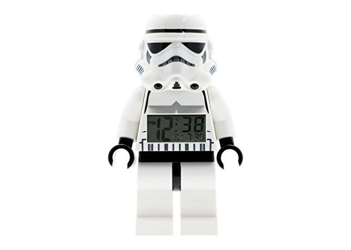 LEGO Star Wars Storm Trooper Figure Alarm Clock - 1