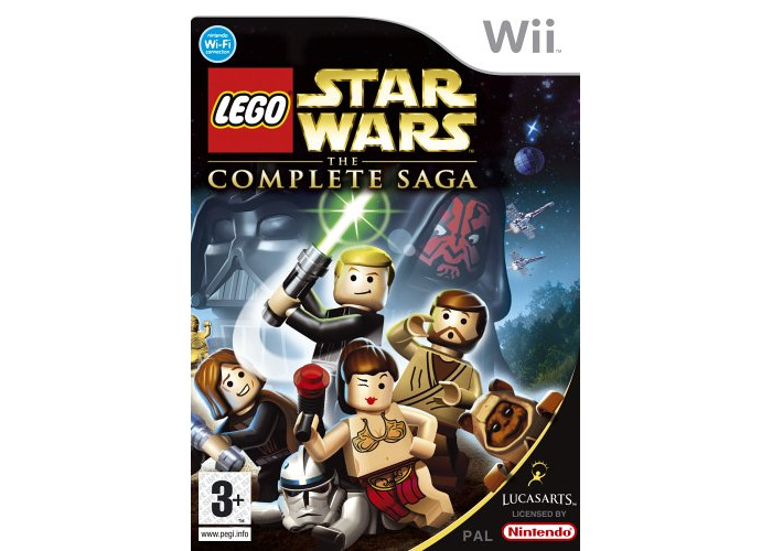 Lego Star Wars: The Complete Saga (Wii) [video game] - 1