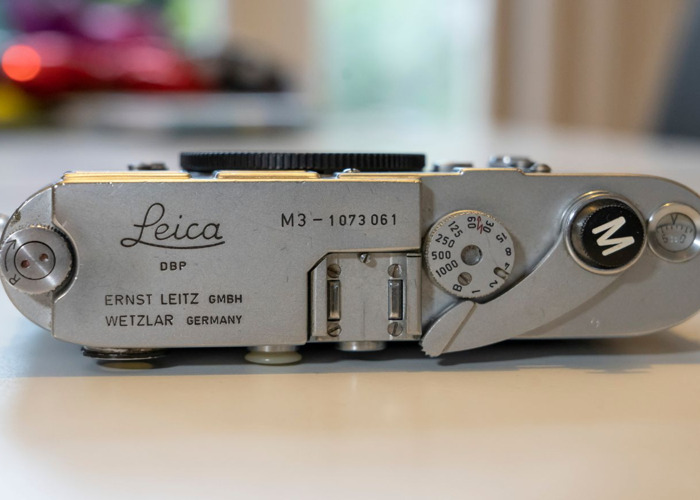 Leica M3 1963 film camera body - 2