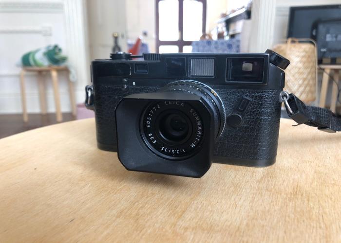 Leica M6 35mm film - 1