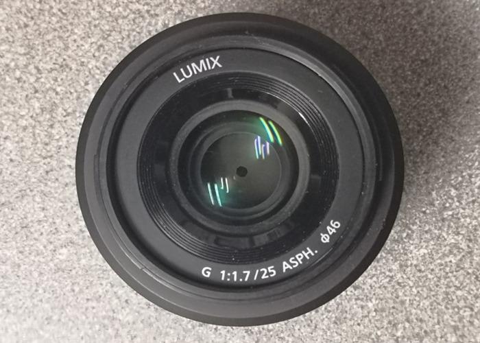 Leica Panasonic 25mm f1.7 LUMIX - 1