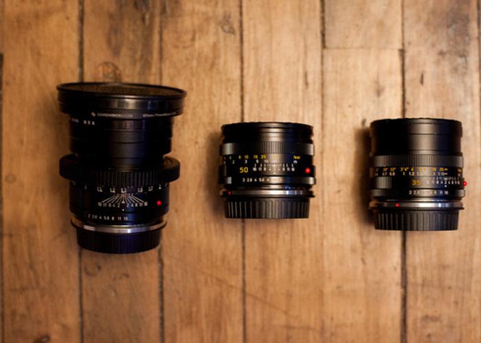 Leica R 3-Lens Kit (35mm, 50mm, 90mm) - 1