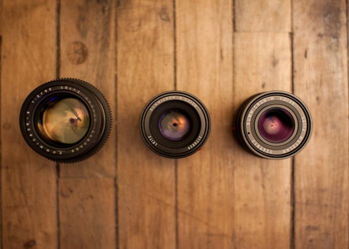 Leica R 3-Lens Kit (35mm, 50mm, 90mm) - 2