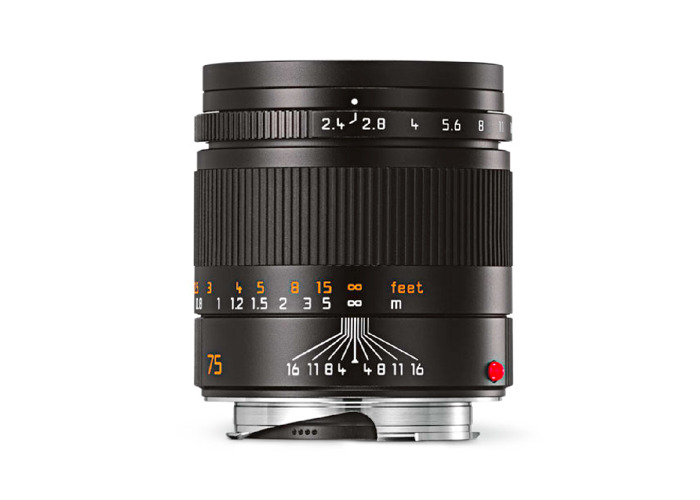 Leica SUMMARIT-M 75mm F2.4 Lens - 1