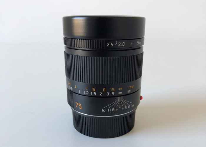 Leica SUMMARIT-M 75mm F2.4 Lens - 2