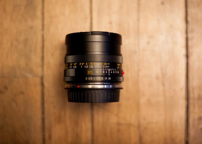 Leica-R 35mm f2.0 EF Mount - 2