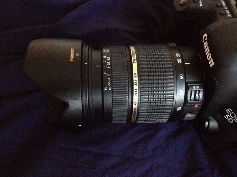 Tamron SP AF 28-75mm F/2.8 Lens for Canon Fit - 1