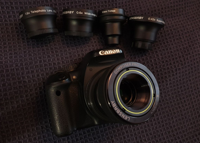 Lensbaby Composer Pro EF Canon mount - Selection of lenses - 1