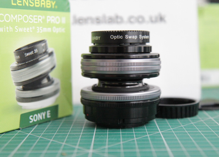 Lensbaby Composer Pro II with Sweet 35 Optic - Sony E Fit - 2