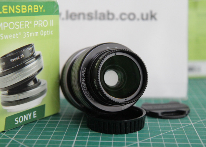 Lensbaby Composer Pro II with Sweet 35 Optic - Sony E Fit - 1