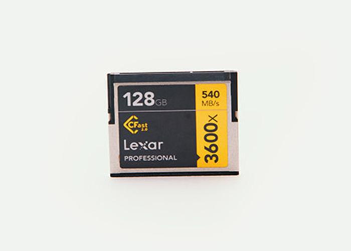 Lexar 128GB CFast 2.0 540 MB/s 3600x Card - 2 Available - 1