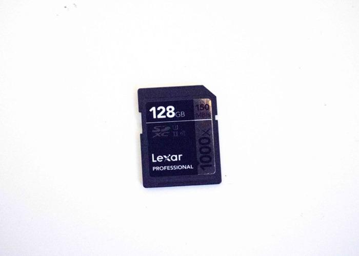 Lexar Professional 125 GB Class 10 - SDXC Card - (LSD128CRBE - 1
