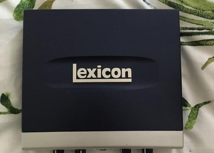 Lexicon Alpha interface - 1