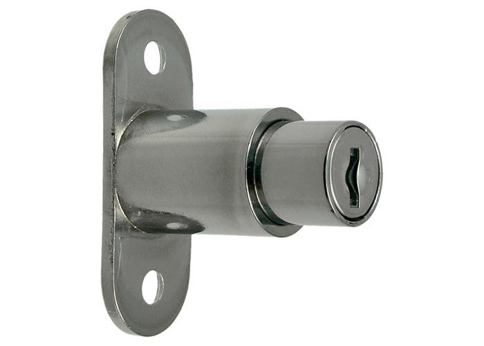 L&F 5862 Sliding Door Lock - 24mm NP KD  - 1