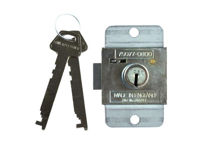 L&F 7 Lever Deadbolt Locker Lock - 22mm ZL KA (1501) - 1