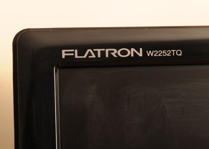 "LG 22"" Flat Screen. 1680 x 1050. VGA & DVI-D Inputs. Widescreen  - 2"