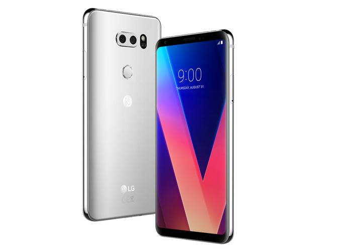 LG V30 H930 64GB Unlocked Cloud Silver - 1