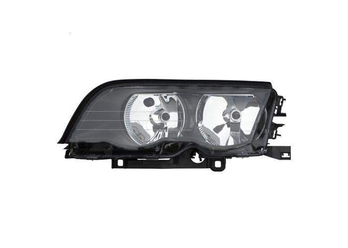 LHD Left Passenger Side NS Headlight Headlamp For BMW E46 Saloon Touring 98-01 - 1