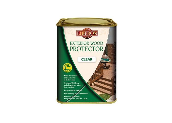 Liberon 104474 Exterior Wood Protector Clear 2.5 Litre - 1