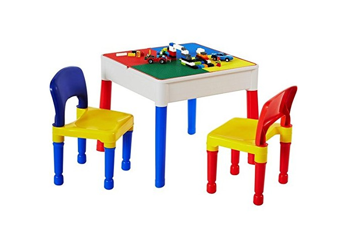 Liberty Construction Multi-Purpose Activity Table & 2 Chairs - 1